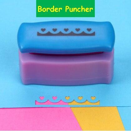 FreeShip Furador Border Punch Edge Lace Punch Punches For Scrapbooking Cortador De Papel Perfurador De Papel Card Make Tool R331