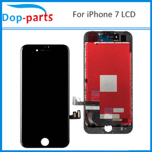 цены на 100Pcs Wholesale Price LCD For iPhone 7 LCD Display Touch Screen LCD Assembly Digitizer Glass LCD Replacement Parts DHL Shipping  в интернет-магазинах