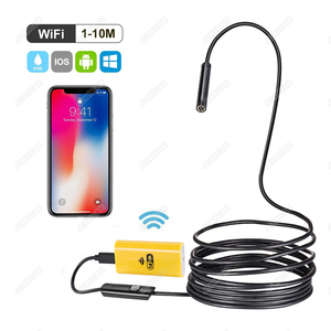 Image 1 - Newest Wireless 720P Mini Endoscope Camera HD Waterproof Snake Borescope Inspection Endoscopy For Iphone Android IOS PC Tablet