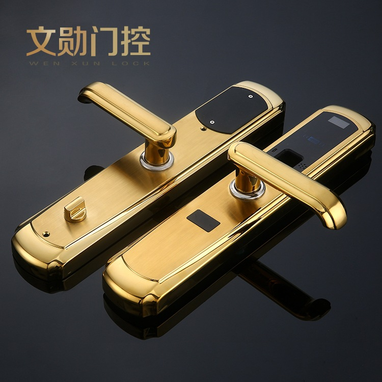 2018 Free Shipping For Intelligent Anti-theft Lock Home Security Doors Combination Gate Fingerprint Wholesale And Make To Order free shipping electric rim lock electro mechanical lock used for access control systems anti theft doors wooden doors etc