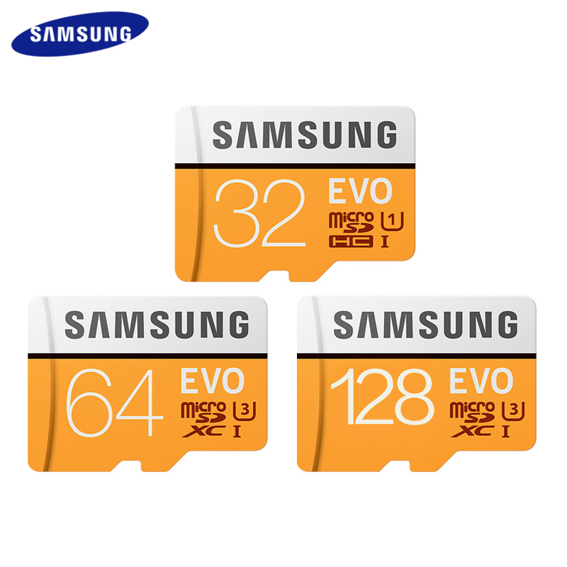 SAMSUNG Micro SD Card Memory Card 32GB 64GB 128GB SDHC SDXC Max 95M/s EVO 32gb 64gb 128gb C10 TF Card Trans Flash Card