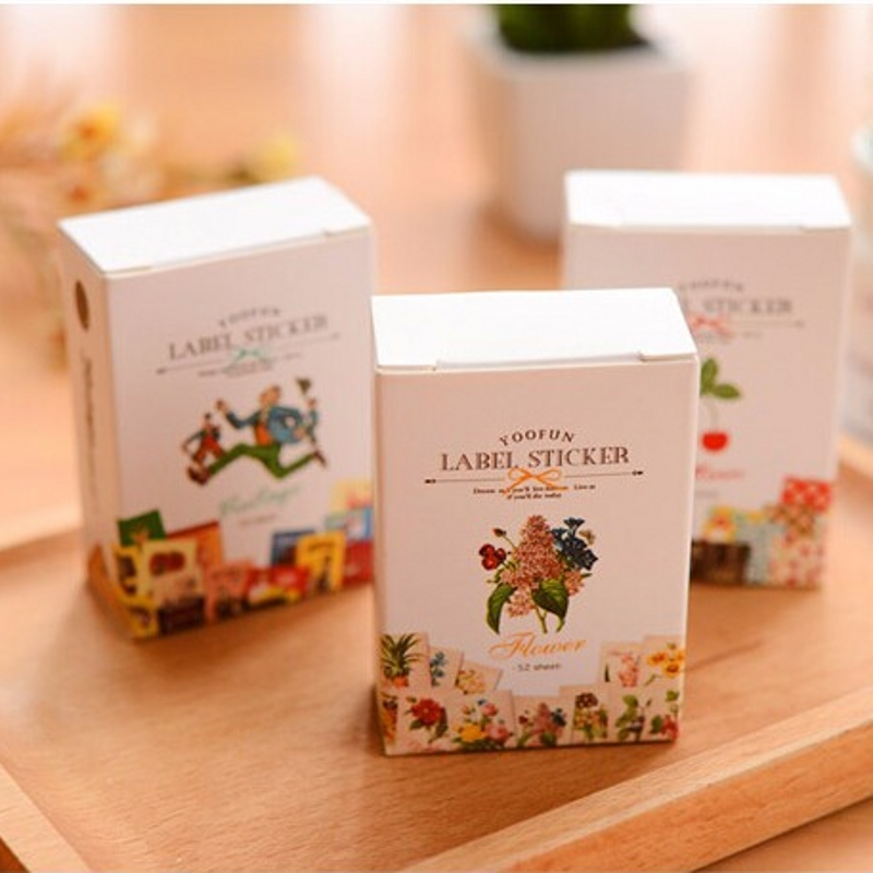 2017 New In Box 1 Set Stationary Post It Exquisite Fairy Tale Cute Diary Stickers Set Decorative Stationery Label Sticker K7458