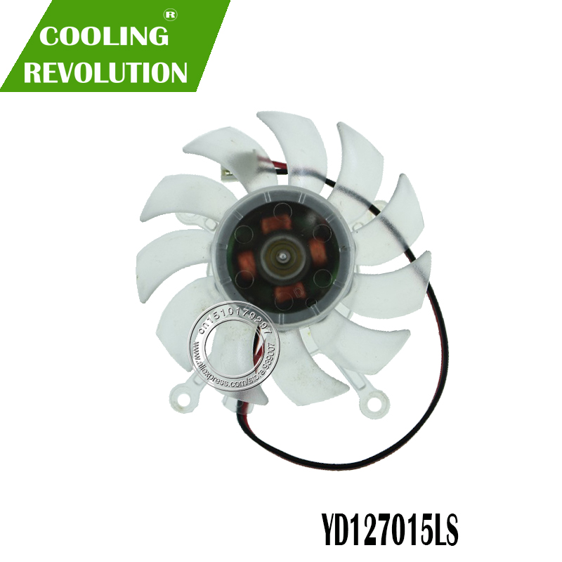 New for ASUS 8600GT 9500GT <font><b>9600GT</b></font> Graphics card cooling <font><b>fan</b></font> YD127015LS 12V 0.11A 2Pin image