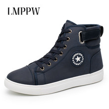 2019 Spring Autumn Men Shoes Trend Canvas Breathable Flats Board Lace Up High Top Sneakers