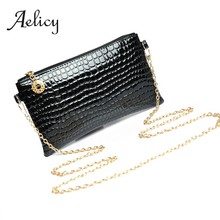 Aelicy Women Leather Crossbody Shoulder Bag Leather Makeup Bag Messenger Bag Clutch Ladies Coin Bag Travel Pouch0(China)