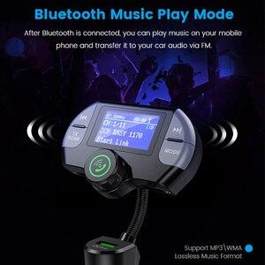 Image 5 - G21 QC3.0 двойной Порты usb автомобиля Зарядное устройство приемник dab Mp3 плеер Bluetooth Беспроводной вызова в режиме свободных рук, свободные руки, FM передатчик, автомобильный набор