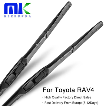 Mikkuppa Hybrid Wiper Blades For Toyota RAV4 From 1994 To 2018 Windshield Windscreen Wiper Auto Car Accessories image