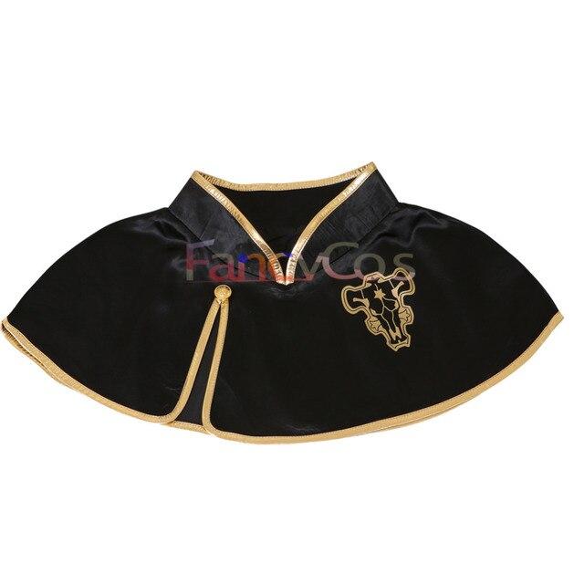 Cosplay capa toro negro de Black Clover Black Clover