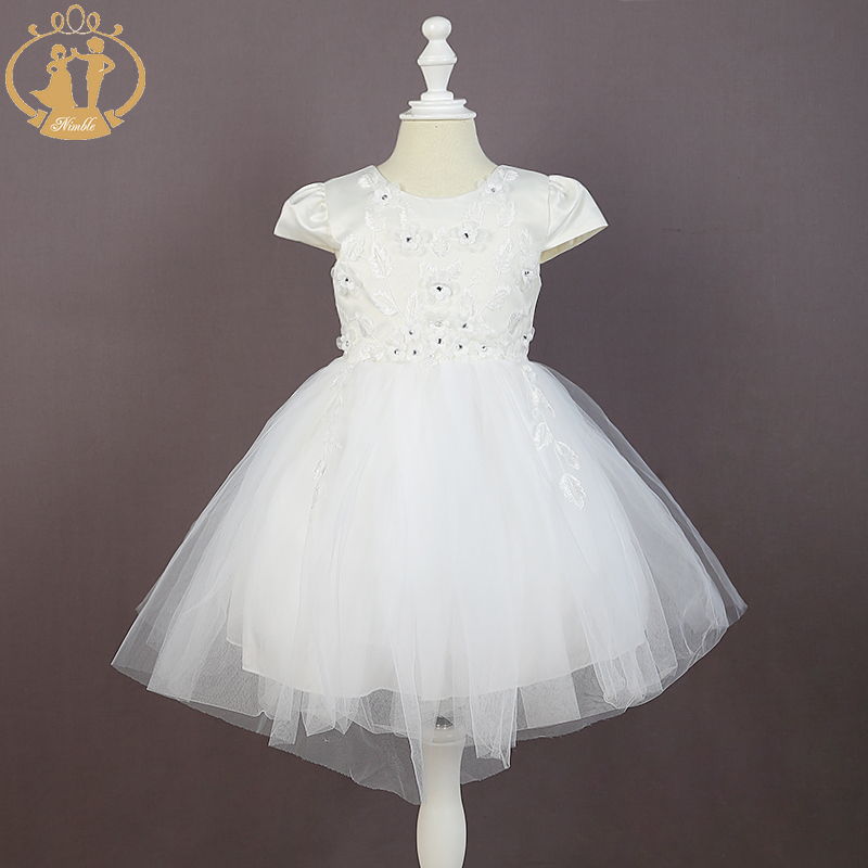 Nimble girls dress vestido infantil moana trolls summer dress White Elegant Lace dress girl roupas infantis menina вечернее платье mermaid dress vestido noiva 2015 w006 elie saab evening dress