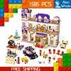 1585pcs Bela 10547 Friends Heartlake Grand Hotel Model Building Bricks Blocks Emma Stephanie Toys Girls Compatible