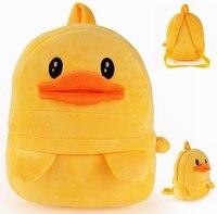Gift voor baby 1 st 30 cm cartoon little been geel eend kinderen pluche rugzakken Satchel snack schoudertas speelgoed