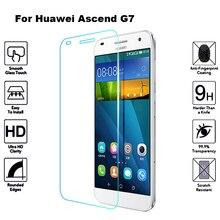 2 шт. закаленное Стекло для huawei G7 Экран защитная пленка 2.5D с уровнем твердости 9 H закаленное Стекло для huawei Ascend G7 G7-L03 G7-L01 G7 L03 L01 G 7