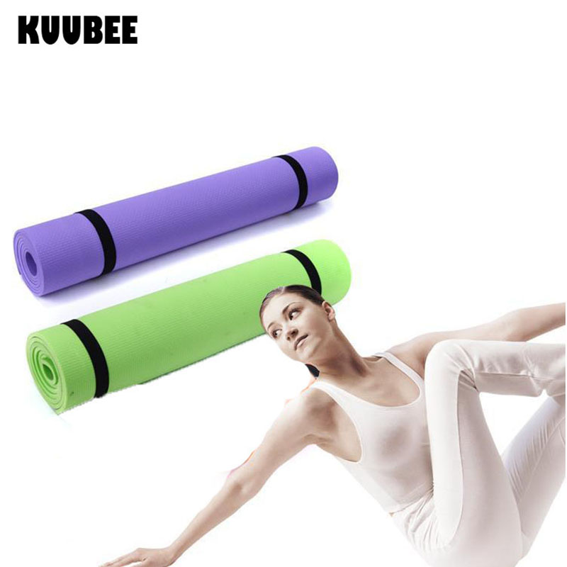6MM EVA Yoga Mat Exercise Pad Thick Non-slip Folding Gym Fitness Mat Pilates Supplies Non-skid Floor Play Mat