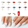 W 100pcs New 2016 rhinestones ring decor nail tools 3d nail jewelry accessories all for nail