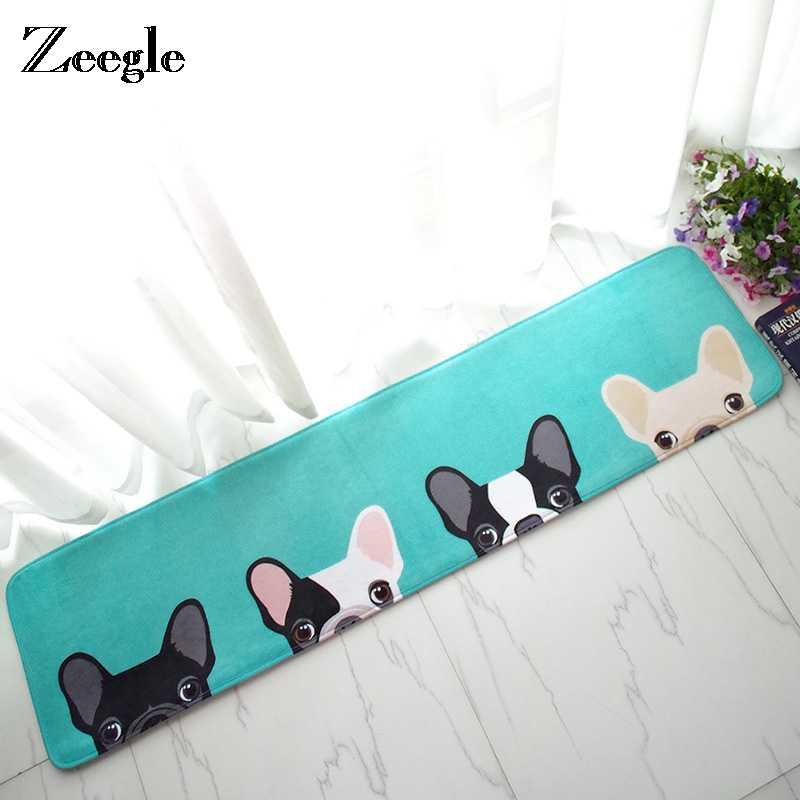 Zeegle Dog ковер домашний коврик открытый мягкий детский ковер коврики для спальни прикроватные коврики Нескользящие Коврики для кухни ванной комнаты Коврики для пола