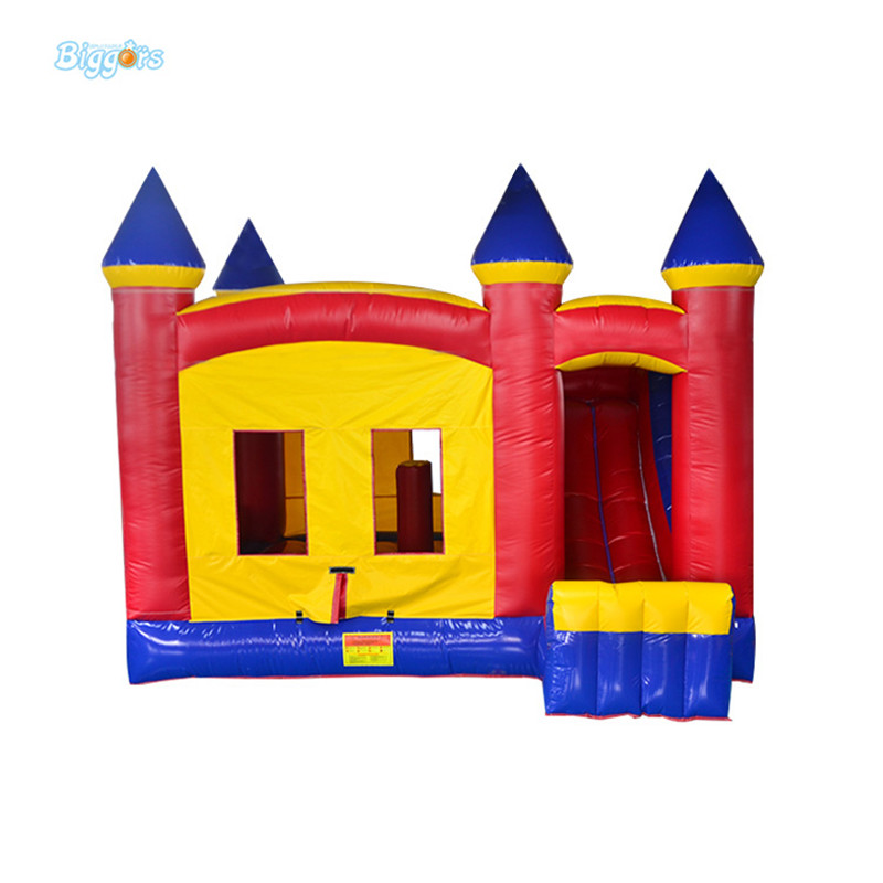 inflatable bounce house with slide jumping inflatable castle kids bounce house 5pcs lot auo 12301 lcd chip