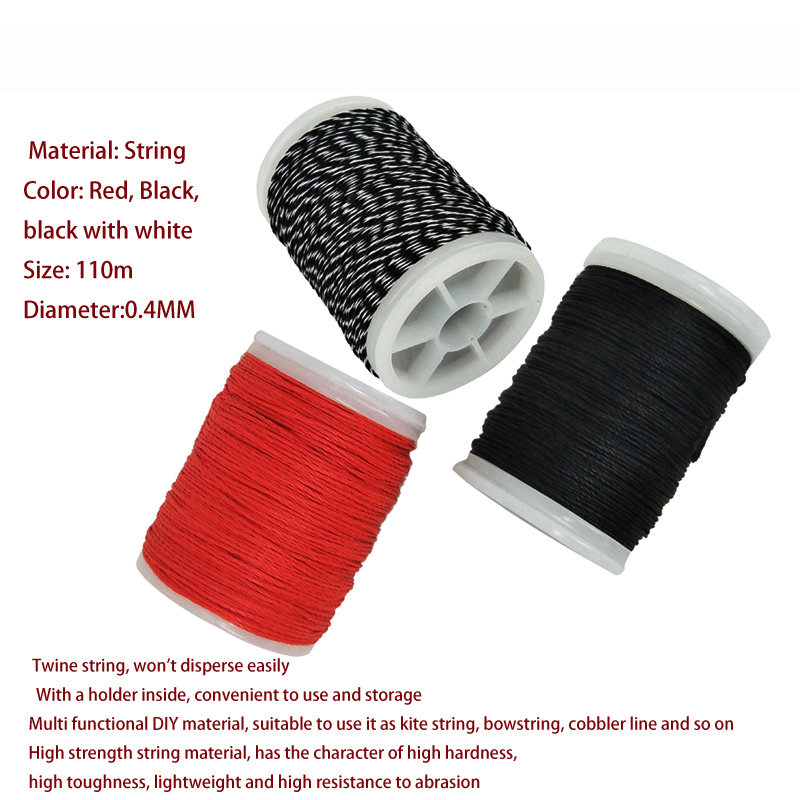 4Combinat-Archery-Bow-String-Material-Bowstrings-Serving-Tool-bow-strings-wax-Archery-Strings-Buckle-Clip-Nock-(6)
