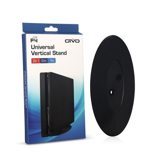 Base de soporte vertical Universal 2 en 1 para PS4 Pro/PS4 consola delgada