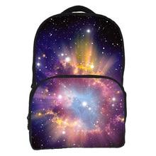 2016 Women Oxford Backpack Stylish Galaxy Star Universe Space Backpacks Girls Campus School Backbag Mochila Feminina