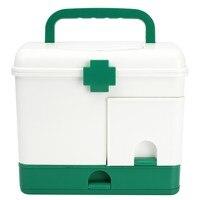 NEW Safurance 3 Layer Health Box Medicine Chest Handle First Aid Kit Storage Organizer Drawer Outdoor