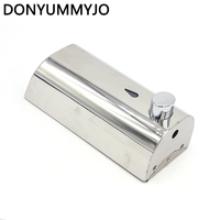 New Wall Mounted Bathroom Stainless Steel Hotel Hand Liquid Soap Dispensers Kitchen Soap Dispenser Wall Mounted
