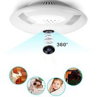 Wireless Fisheye Indoor Dome IP Camera 960P HD WiFi IR Night Vision Motion Detection Security System