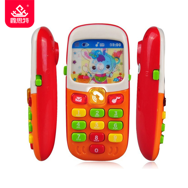 Baby Toy Phone Kid Mobile Phone Electronic Musical Cellphone