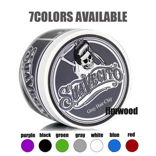 Suavecito Stereotypes wax hair wax color cream one-time temporary  hair gel strong modelling finalize 7colors mud  no original