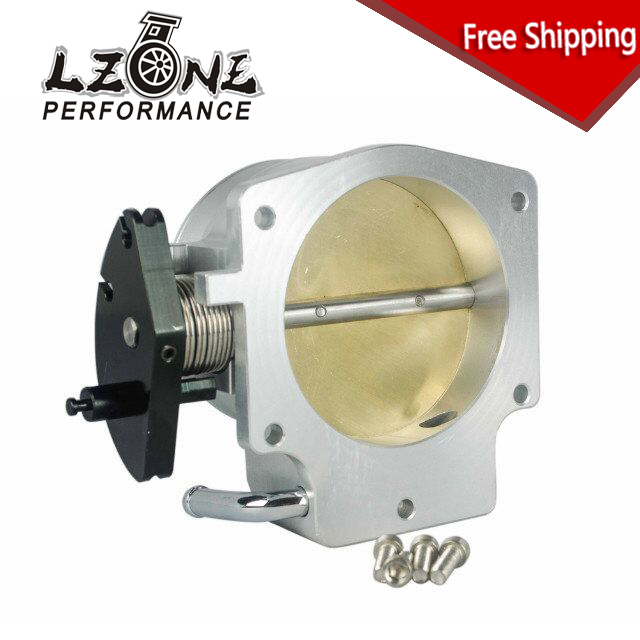 LZONE RACING - FREE SHIPPING NEW THROTTLE BODY FOR 92MM GEN III LS1 LS2 LS6 THROTTLE BODY LS3 LS LS7 SX LS 4 BOLT CABLE JR6937 free shipping new throttle body 92mm for gm gen iii ls1 ls2 ls6 throttle body for ls3 ls ls7 sx ls 4 bolt cable vr6937