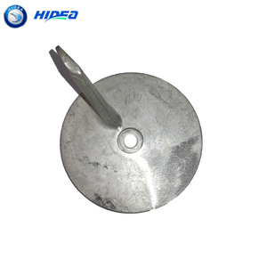 Anode For Hidea /YMH 40F 2 Stroke 40HP Outboard Motor Spare parts Trim tab(China)