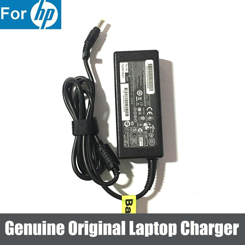 Genuine Original 65W 18.5V 3.5A AC Adapter CHARGER for HP Compaq C300 C700 C700T C777CL C713TU F600 F700 PP009H