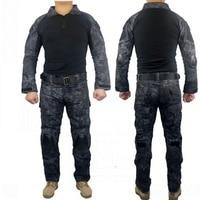 Kryptek Typhon Camouflage G2 Army Military Uniform Tactical BDU Camo Men Airsoft Sniper Hunting Clothes Combat Shirt Pants Suit