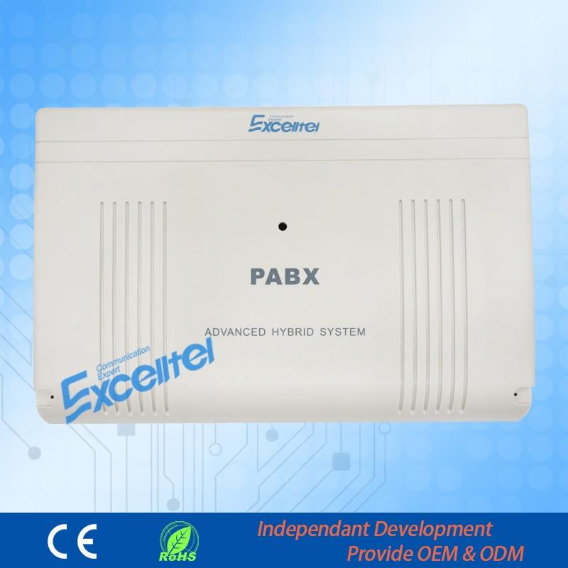 Մեծ հզորություն PABX / CP1696-848 8 PSTN տող 48 երկարացում / Վճարման ծրագրային ապահովման կառավարում.