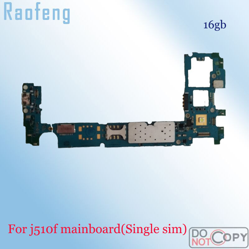 Raofeng disassembled Unlocked for Samsung galaxy j5 j510f motherboard  whole function mainboard with full chips Logic Board(China)