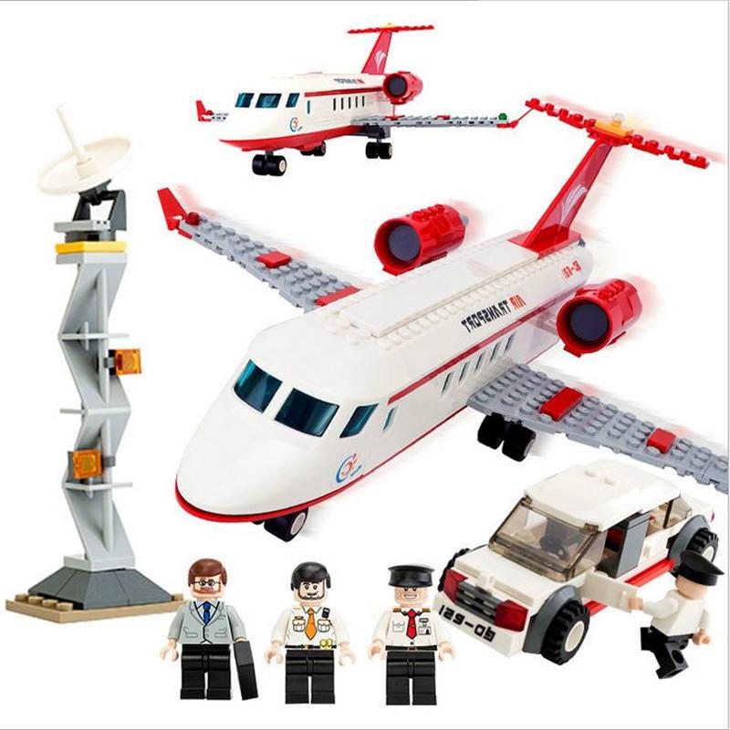 GUDI Avion jouet Building Block 334 pcs Série Aérospatiale Privé - Concepteurs et jouets de construction - Photo 1