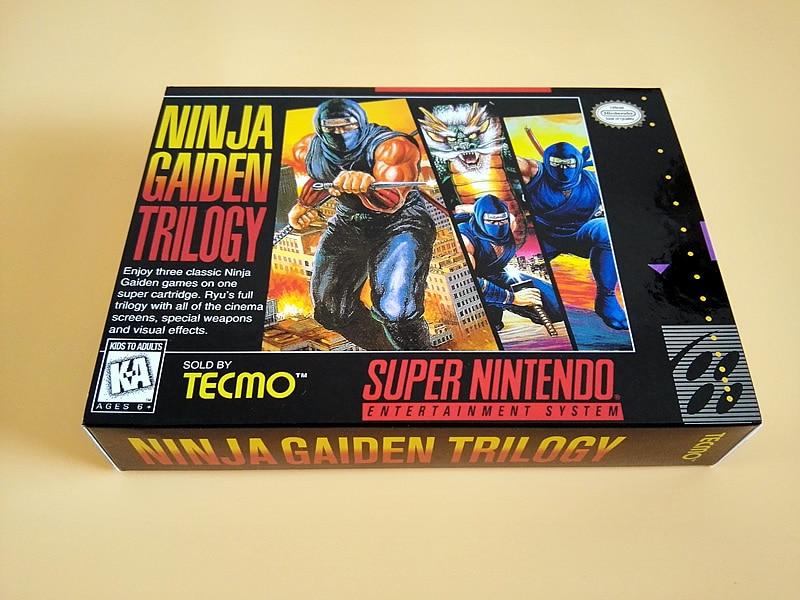 Act Game Cartridge Ninja Gaiden Trilogy Usa Version English