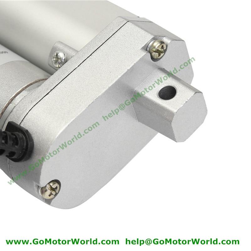 Best heavy duty Linear Actuator 12V 24V 800mm Stroke 1600N load 100mm/s speed fast linear actuator manufacturer