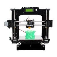 Tax free из Германии Geeetech 3D принтеры RepRap Prusa i3 x полный акрил Рамки повышен качество высокая точность DIY Наборы