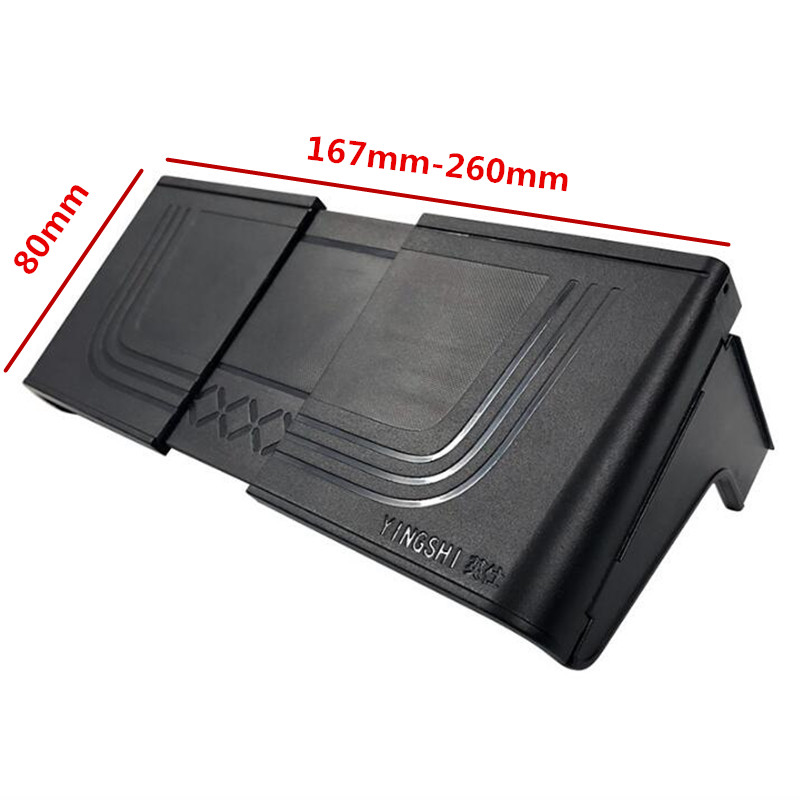 Image 2 - 2019 New Car Navigation Sun Visor Light Board GPS Navigation Paste Hood Display Sunscreen Accessories Universal Self adhesive-in Furniture Frames from Furniture