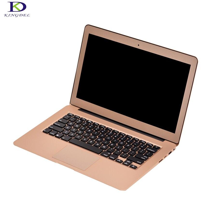 "Rose Gold 13.3"" Core i3 5005U Ultrabook Backlit Keyboard Metal Case 2.0GHz 3M Cache Intel HD"