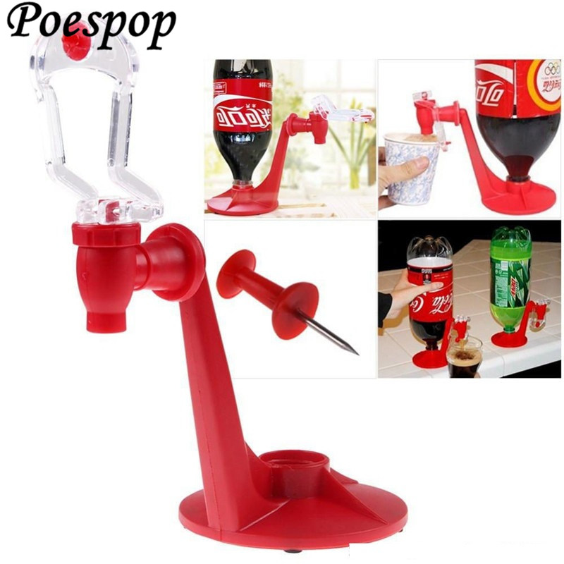 Hand Pressure Meeting Party home Convenient Water Coke Beverage Drinking Fountains Switch Drink Dispenser kitchen shelves