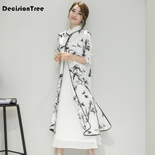 купить 2019 women's satin cheongsam qipao evening dress chinese oriental dresses traditional chinese wedding dress retro по цене 1855.59 рублей