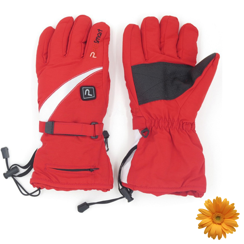2017 Winter Outdoor Skiing Electric Heated Gloves 3.7V Hand Protective Warm Gloves with Rechargeable Lithium-ion BatteriesX2pcs