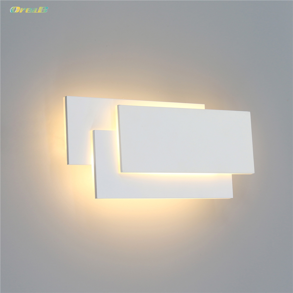 2pcs Decorative Led Wall Mounted Lights Fixtures Lamps For Living Room Bedroom Indoor Path Lights 12W