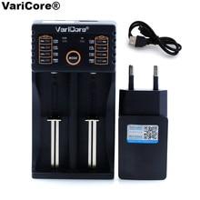 VariCore V20I V10 AA AAA 18650 26650 18350 14500,10440 26500 Lithium 3.2V 1.2V 3.7V NiMH Battery 5V OUT Charger+5V 2A charger