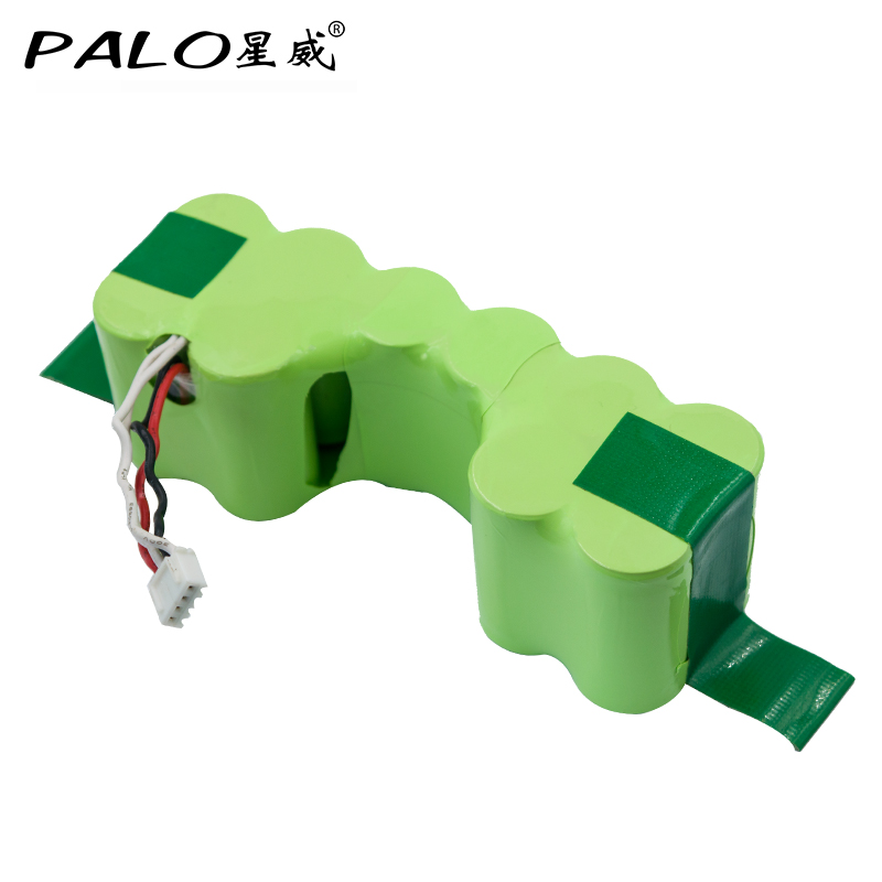 PALO NEW Battery 12V Ni-MH 3500mAh Vacuum Cleaner Robot battery in Rechargeable Batteries Pack For ECOVACS DD35 DG710 DG716 etc