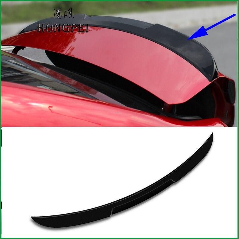 Pour Mazda 3 M3 Axela berline 2014 2015 2016 2017 voiture queue aile décoration garniture ABS plastique peinture couleur arrière coffre Spoiler