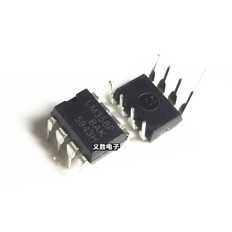 50PCS/lot LM358P DIP8 LM358 LM358N Operational amplifier op amp Dual Op Amp New original ...