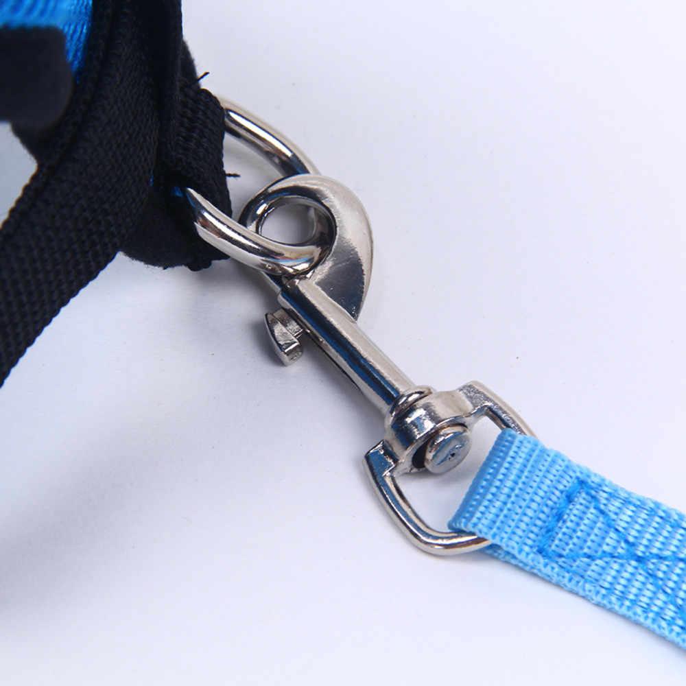 調整可能な玲チョンペットの犬は胸ストラップ小型ペットの基本的なホルターネックハーネスあなたの犬 & 猫セーフと快適な
