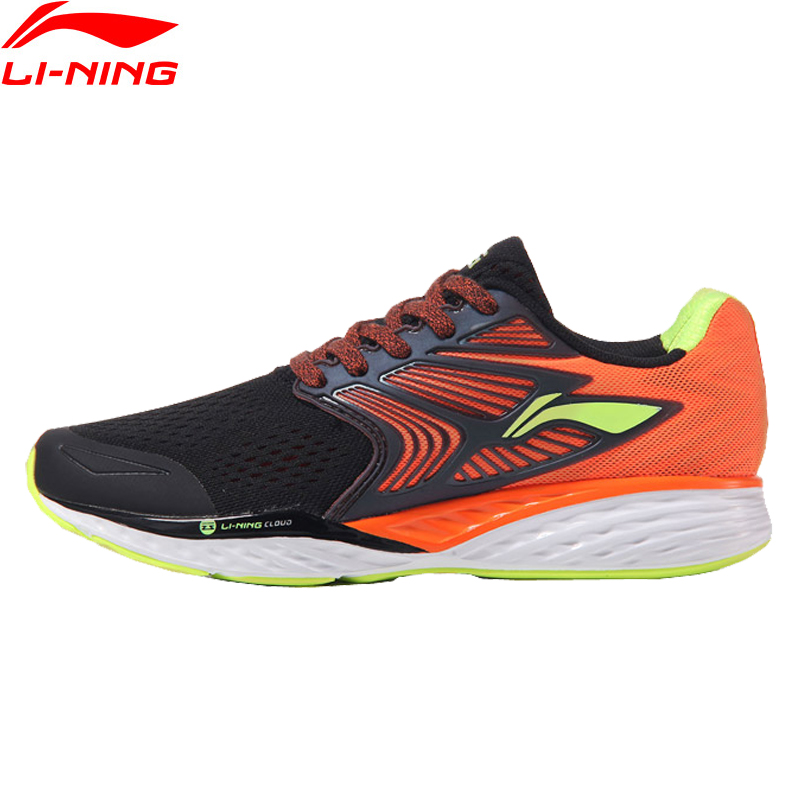 Li-Ning herren LN WOLKE IV PLUS Professionelle Laufschuhe Kissen Futter MONO GARN Turnschuhe Sport Schuhe ARHM019 XYP547